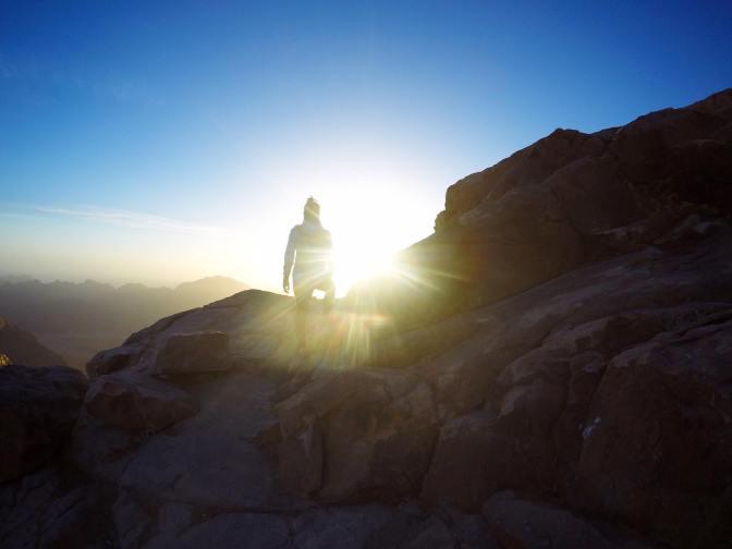 登上神的山